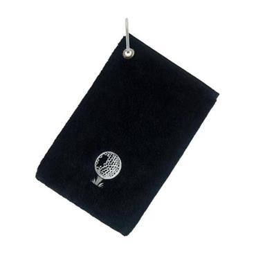 Surprizeshop Pouch Towel  Black