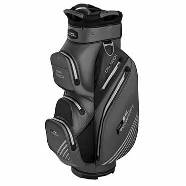 Powakaddy Dri-Tech Cart Bag  Titanium Black Silver