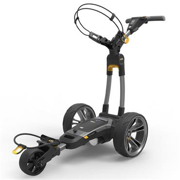 Powakaddy CT6 EBS 18 hole Lith Cart  Gunmetal