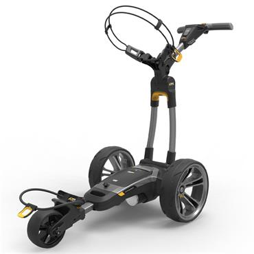 Powakaddy CT6 GPS 18 hole Lith Cart  Gunmetal