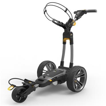 Powakaddy CT6 18 hole Lith Cart  Gunmetal