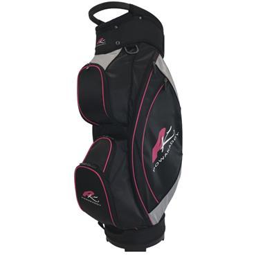 Powakaddy Powa Lite Cart Bag  Black/Silver/Fuchsia