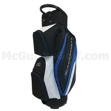 Powakaddy Deluxe Cart Bag  Black/Blue/White