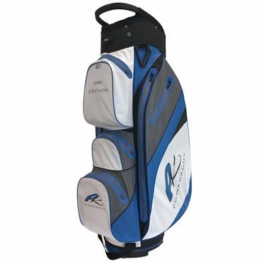 Powakaddy Dri Edition Waterproof Cart Bag  White/Grey/Blue
