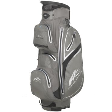 Powakaddy Dri Edition Cart Bag  Black/Gunmetal/Silver