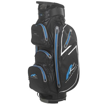 PowaKaddy Dri Edition Cart Bag Black - Gunmetal - Blue