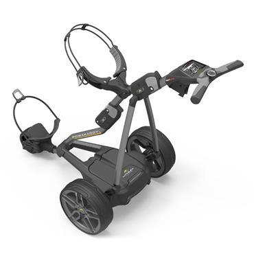 PowaKaddy FW7s GPS Bluetooth Electric Trolley Extended Lithium Battery Gunmetal