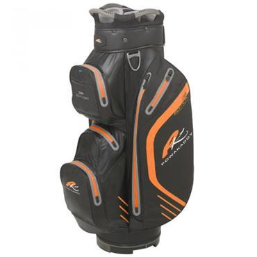 Powakaddy Dri Edition Cart Bag  Black/Orange