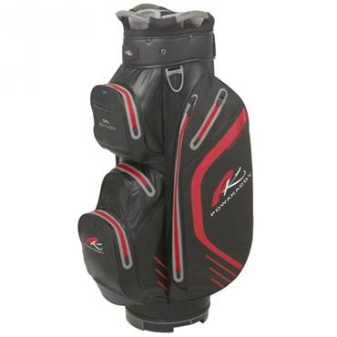 Powakaddy Dri Edition Cart Bag  Black/Red