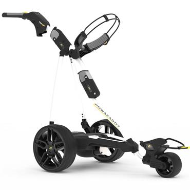 Powakaddy FW3s 19 Cart 18 Hole Lithium  White