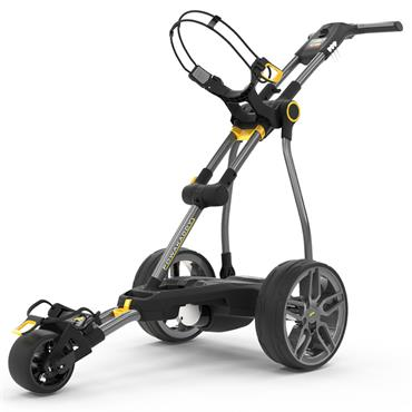 PowaKaddy C2i 19 GPS Bluetooth Electric Trolley Extended Lithium Battery Gunmetal