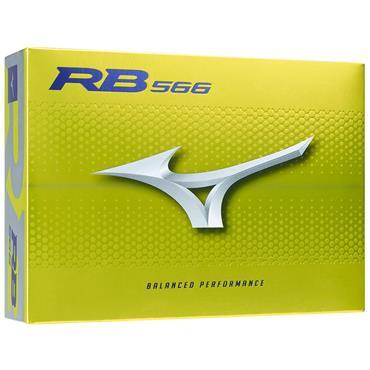 Mizuno RB 566 Golf Balls Dozen Yellow