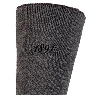 Glenmuir Gents Osiris Thermal Socks  Charcoal