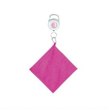 Surprizeshop Golf Ball  Retractable Towel  Pink