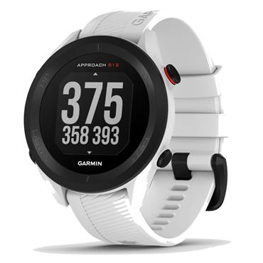 Garmin Approach S12 GPS Watch  White