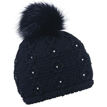 Sabbot Ladies Natalie Lined Beanie  Black