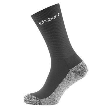 Stuburt Gents Crew Socks 2-Pairs  Black
