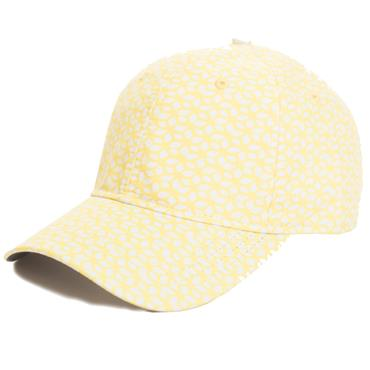 Green Lamb Ivy Printed Baseball Cap  Honeycomb
