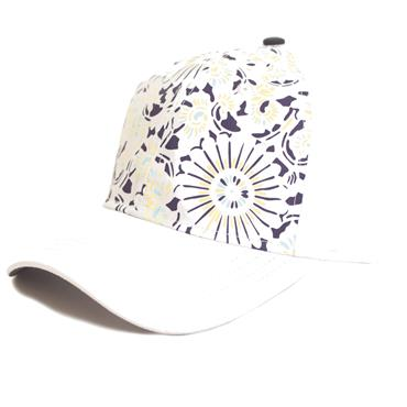Green Lamb Ivy Printed Baseball Cap  Sunburst