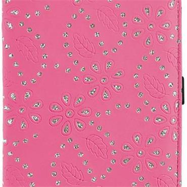 Surprizeshop Large Glitter Flower Scorecard Holder  Hot Pink