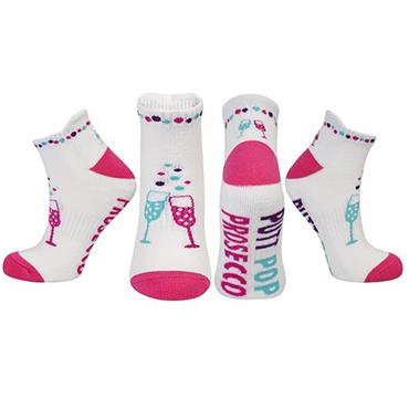Surprizeshop Putt Pop Prosecco Socks  .