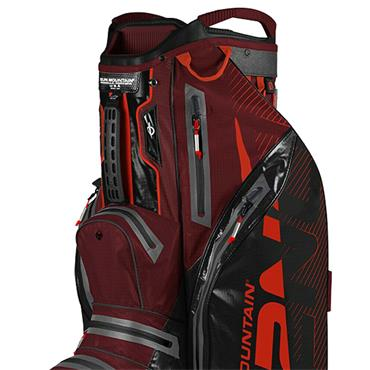 Sun Mountain H2NO Lite Cart Bag  Black Garnet