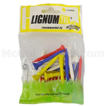 Lignum Tee Plastick Tees Multicolour 16-Pack 53 mm