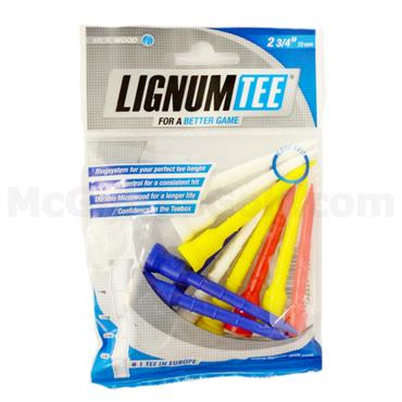 Lignum Tee Plastick Tees Multicolour 12-Pack 72 mm