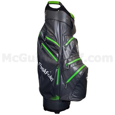 Spalding FastFold WP 360 Cart Bag  Grey/Lime/White