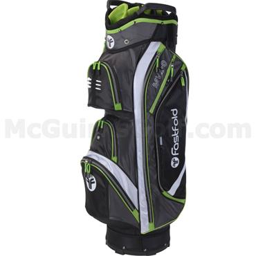 FastFold MV 1.0 Cart Bag Black - White - Lime