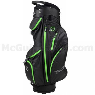 Spalding '16 WP360 Cart Bag Black - Green