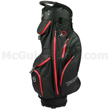 Spalding 360 Waterproof Cart Bag  Black/Red