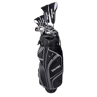 "Spalding True Black Package Set Gents Right Hand 1"" Shorter"