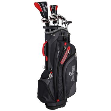 Spalding Executive steel/graph Package Set  Gents Right Hand