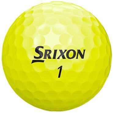 Srixon Soft Feel Golf Balls  Yellow