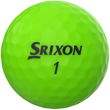 Srixon Soft Feel Golf Balls  Green