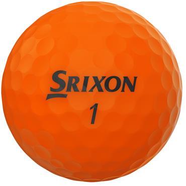 Srixon Soft Feel Golf Balls  Orange
