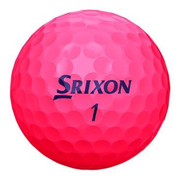 Srixon Soft Feel Lady Golf Balls  Pink