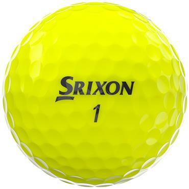 Srixon Z-Star Golf Balls  Yellow