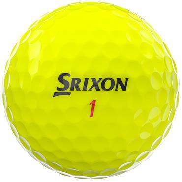 Srixon Z-Star XV Golf Balls  Yellow