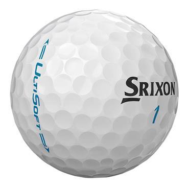 Srixon Ulti Soft Golf Balls Dozen  White