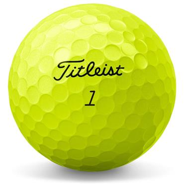 Titleist AVX Golf Balls Dozen  Yellow