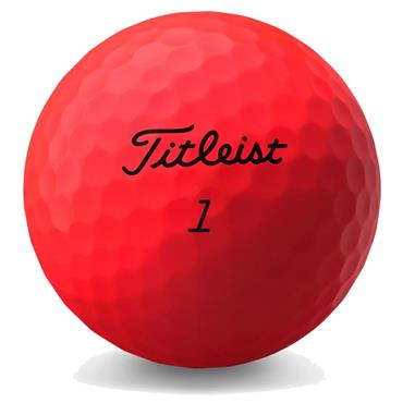 Titleist Trufeel Matte Red  Red