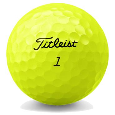 Titleist Tour Soft Golf Balls Dozen  Yellow