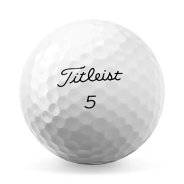 Titleist Pro V1 High Numbers Golf Balls Dozen  White