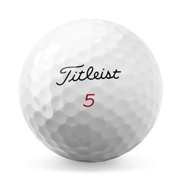 Titleist Pro V1X High Numbers Golf Balls Dozen  White