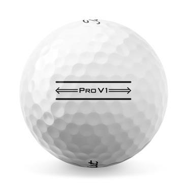 Titleist Pro V1 2021 AIM Golf Balls Dozen White  White