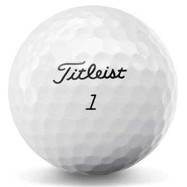 Titleist 2020 Tour Speed Ball Dozen  White