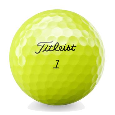 Titleist Tour Speed Ball Dozen  Yellow