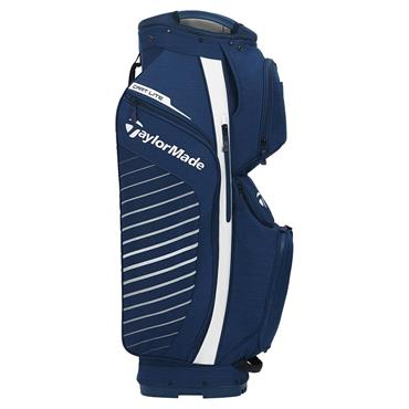 TaylorMade Cart Lite Bag  Navy Flag White